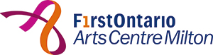 FirstOntario Arts Centre Milton Logo - dark
