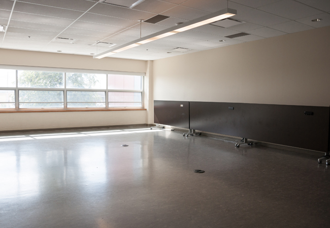 empty facility room