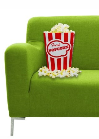Milton Film Festival Couch and Popcorn